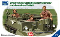British & Commonwealth Universal Carrier crew in winter uniform 1943-1945 - Image 1