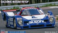 21131 Calsonic Nissan R91CP Historic Car series 31