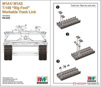 M1A1/ M1A2 T-158 Big Foot Workable Track Link