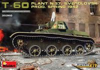 T-60 Sverdlovsk Plant Nr. 37 Production, 1942 with Interior Kit