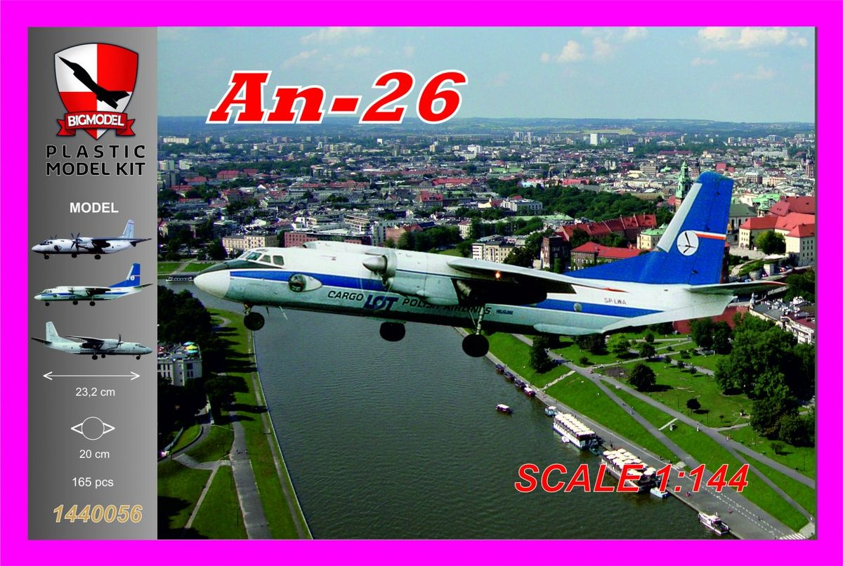 An-26 LOT Cargo - Image 1