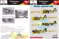 Polikarpov I-153 - Finnish captured I-153 - Image 1