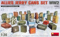 Allies Jerry Cans Set WWII