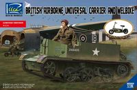 British Airborne Universal Carrier and welbike - Image 1