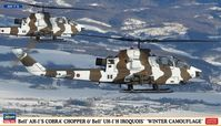 Bell AH-1S Cobra Chopper & UH-1J Iroquois Winter Camouflage - Image 1