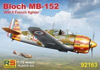 French fighter Bloch MB-152 (Vichy Air Force)