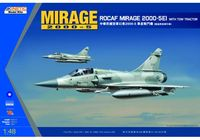 MIRAGE 2000-5EI ROCAF with TOW Tractor
