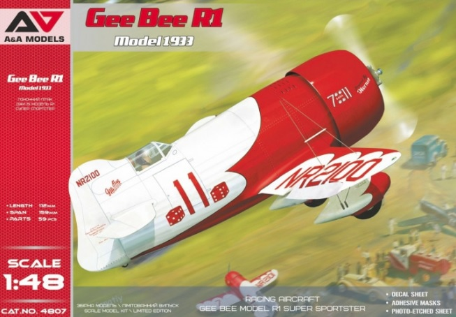 Gee Bee R1 Model 1933 - Image 1