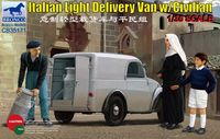 Italian Light Delivery Van with Civilian Figures - Image 1