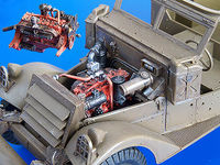 M3 Scout Car - engine set - Image 1
