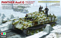 Panther Ausf. G Early/ Late version w/ Full Interior
