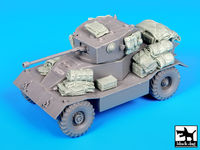 AEC Mk II armoured car accessories set for Mini Art