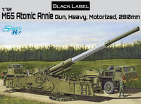 M65 Atomic Annie Gun, Heavy Motorized 280mm