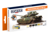 HTK-CS112 Modern Ukrainian Army AFV Paint Set