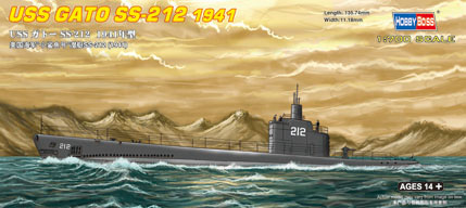 USS Submarine Gato SS-212 1941 Model - Image 1