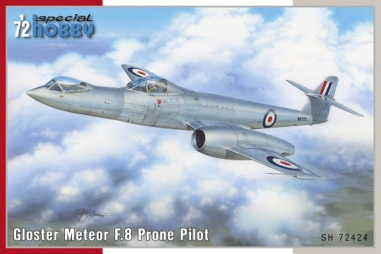 Gloster Meteor F.8 Prone Pilot - Image 1
