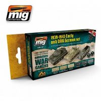 A.MIG 7116 WARGAME EARLY AND DAK GERMAN SET