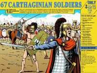 67 Carthaginian Soldiers