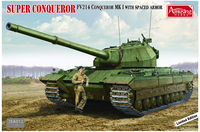 Super Conqueror FV214 Conqueror MK I with spaced armor