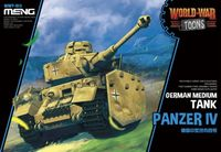 Panzer IV German Medium Tank - World War Toons - Image 1