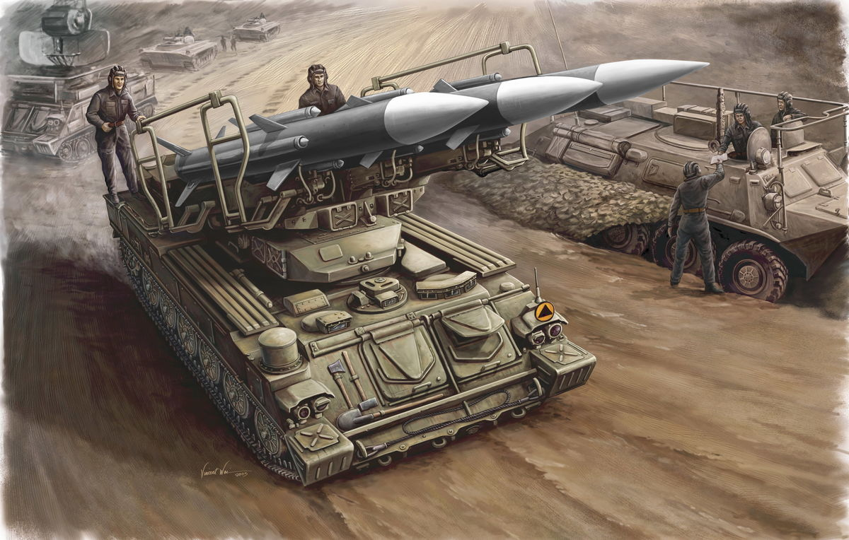 SAM-6 Antiaircraft Missile - Image 1