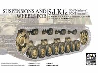 Suspensions and Wheels for Nashorn and Hummel (Sd.Kfz 164-165) - Image 1