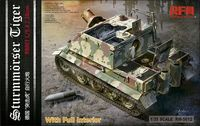 Sturmmorser Tiger RM61 L/5,4 / 38 cm With Full Interior
