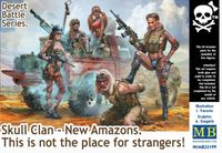 "Skull Clan - New Amazons ""This is not the place for strangers!"" Desert Battle Series - Image 1"
