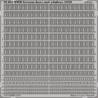 WWII German doors and windows  1/350 - Image 1