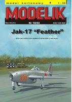 Russian fighter JAK-17 Feather