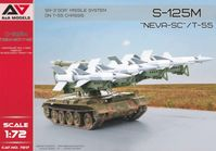 "S-125M ""Neva-SC""/T-55 SA-3 Goa Missile System on T-55 Chassis"