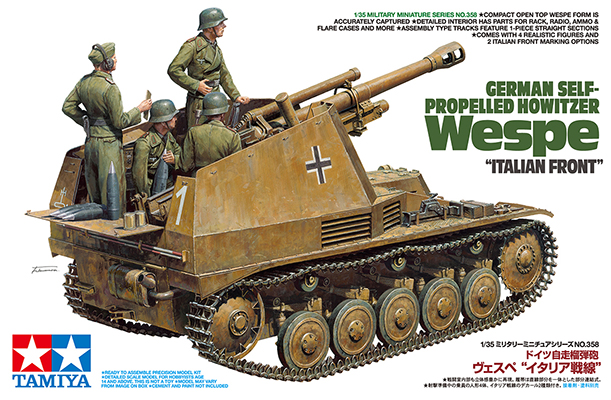"German Self-Propelled Howitzer Wespe ""Italian Front"" - Image 1"
