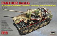 Panther Ausf.G with Full Interior & Cut Away Parts