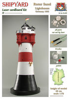 Roter Sand Lighthouse skala 1:72